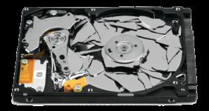 Hard Disc rotto